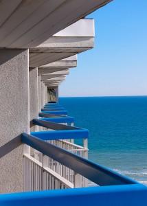 Myrtle Beach Balcony, image copyright Rhonda McDougal