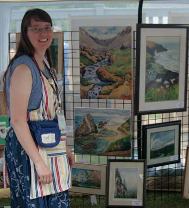 Julie Drew at Artwalk 2011