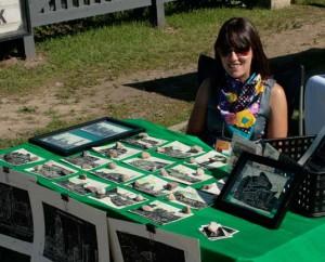 Stephanie Medford and postcards