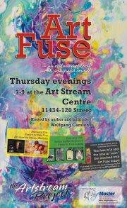art fuse Thursday evenings at PageMaster