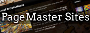 PageMaster Sites Banner