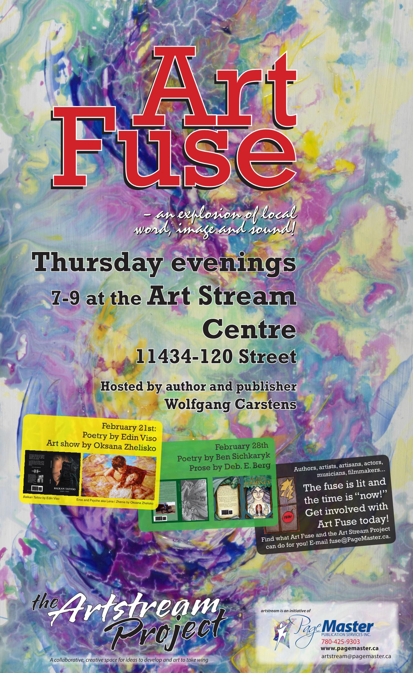 Art Fuse: An explosion of local word, image and sound!