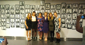 Photographers from thewomen.ca project. In all over 360 women participated.