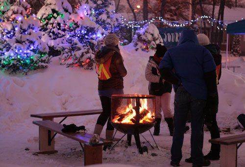 Winter activities in Edmonton