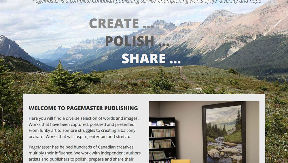 PageMaster Publishing online store