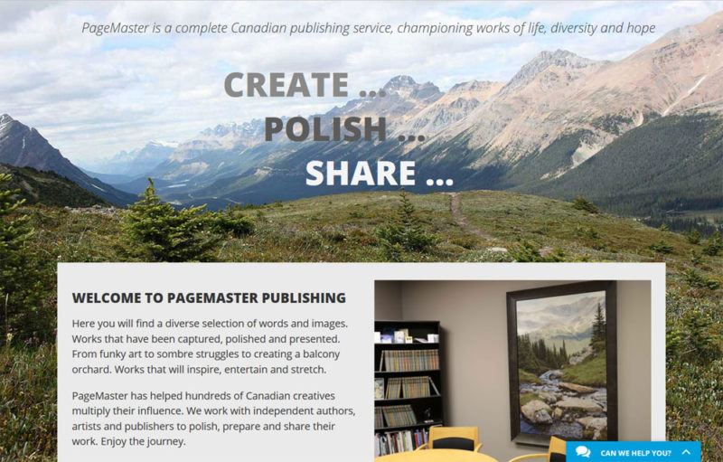 PageMaster Publishing store online