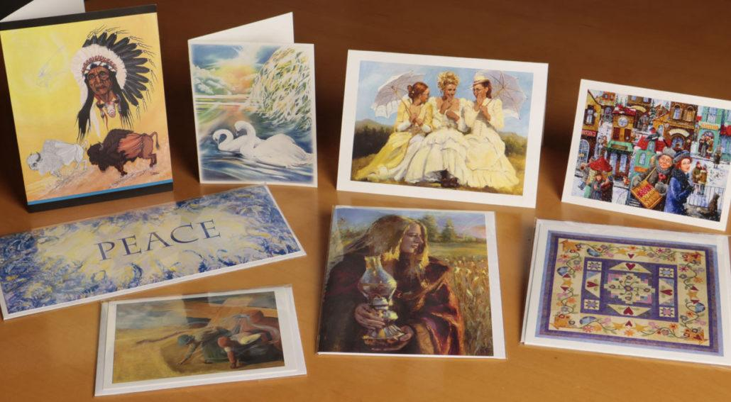 folding art and note cards