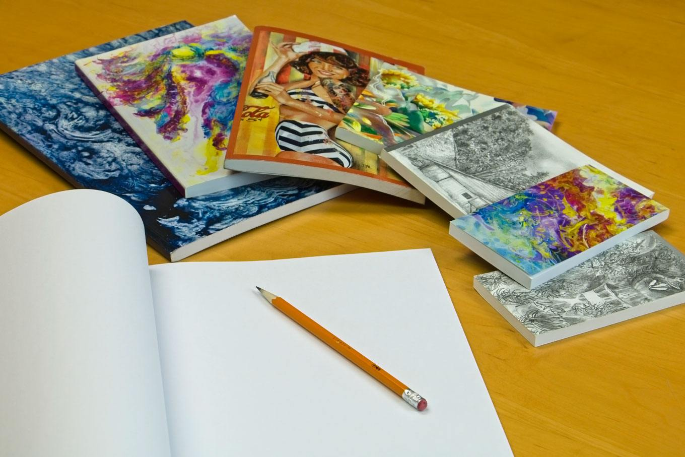 art covers for notebooks
