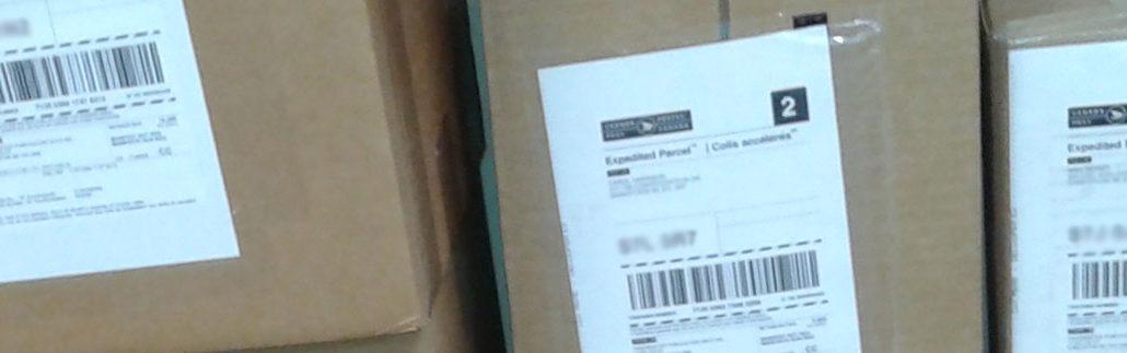 PageMaster book distribution - shipping