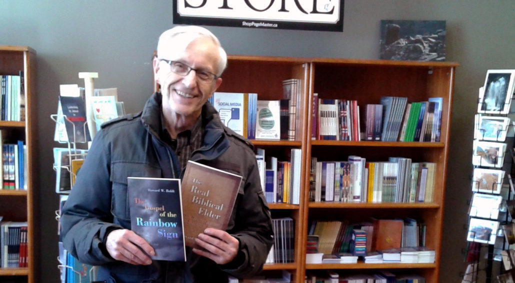 Alberta author Howard Boldt has added two new titles: The Gospel of the Rainbow Sign, and The Real Biblical Elder.