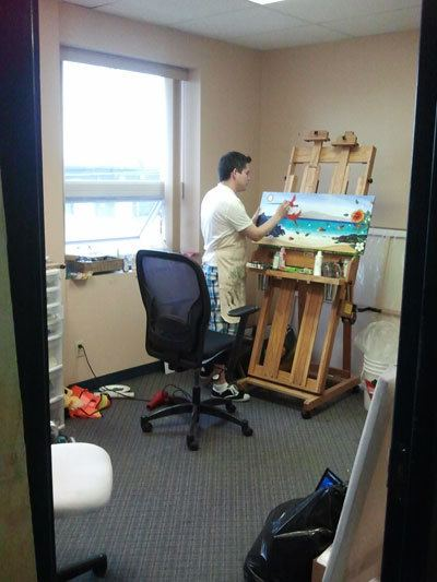 Private studios at Artstream