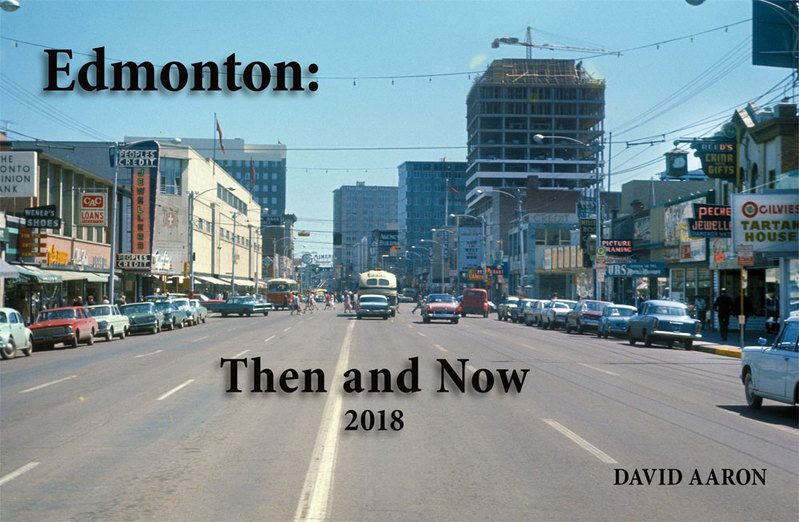 Edmonton Then and Now cover