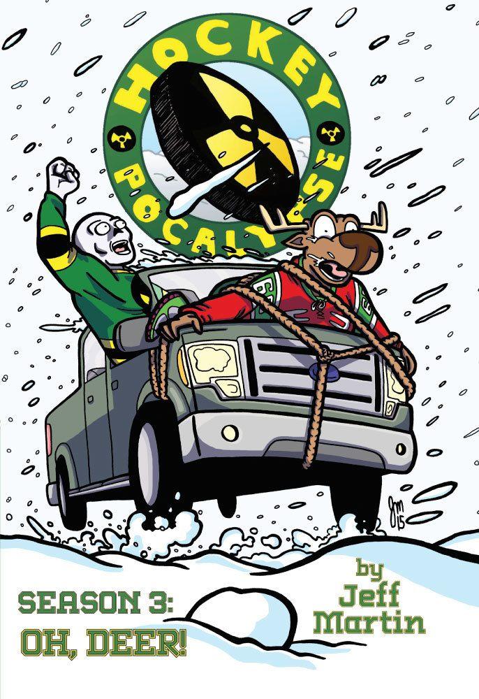 Hockey Pocalypse comic series by Jeff Martin in 6x9 format
