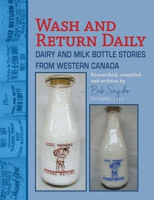 Cover photo of Dairy Bob's book release Wash and Return Daily