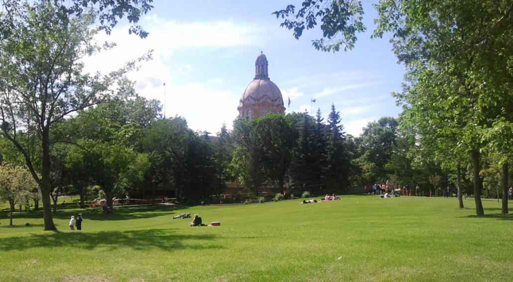 Alberta Leg on Canada Day