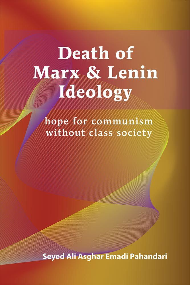 front cover of death of marx and lenin ideology