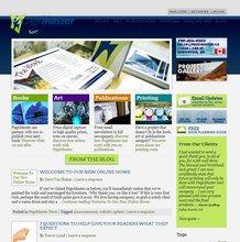 PageMaster's first WordPress site, 2012